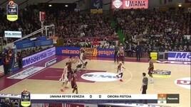 Umana Reyer Venezia-Oriora Pistoia 95-72