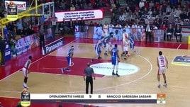 Openjobmetis Varese-Banco di Sardegna Sassari 84-73