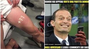 Lazio-Juve sui social, i tifosi si scatenano