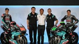 MotoGp Yamaha, Morbidelli: «Hamilton ha provato la mia moto, ora tocca a me con la F1»