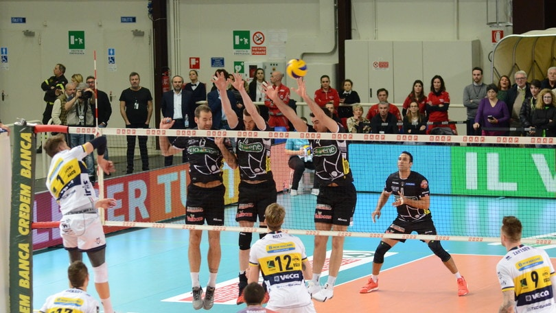 Volley: Superlega, ok le grandi, Modena lascia un punto a Padova