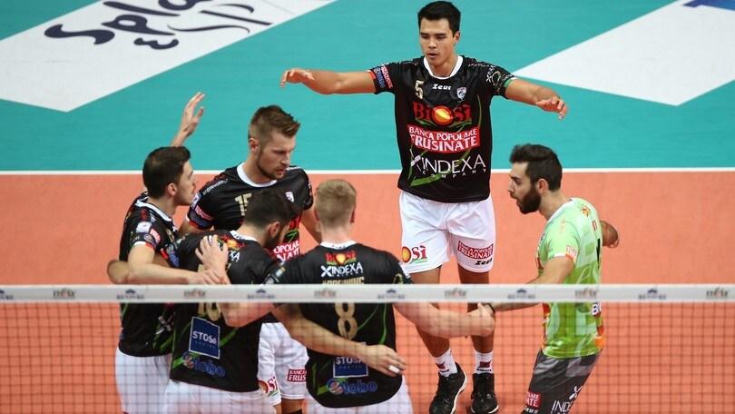 Volley: Superlega, domani il posticipo Milano-Sora