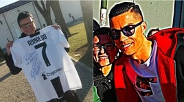Cristiano Ronaldo risarcisce la tifosa colpita dalla pallonata