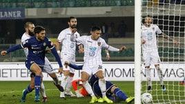 Serie B Verona-Cosenza 2-2, Sciaudone e Idda firmano la rimonta