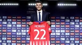 Atletico, ecco Morata:«Non vedo l'ora di lavorare con Simeone»