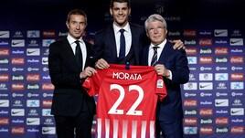 Atletico Madrid, Morata si presenta con la maglia numero 22