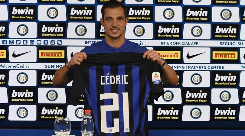 Inter, Cedric Soares si presenta: