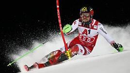 Sci, slalom speciale Schladming: Marcel Hirscher torna alla vittoria