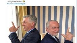 Milan-Napoli, la doppietta di Piatek spopola sui social