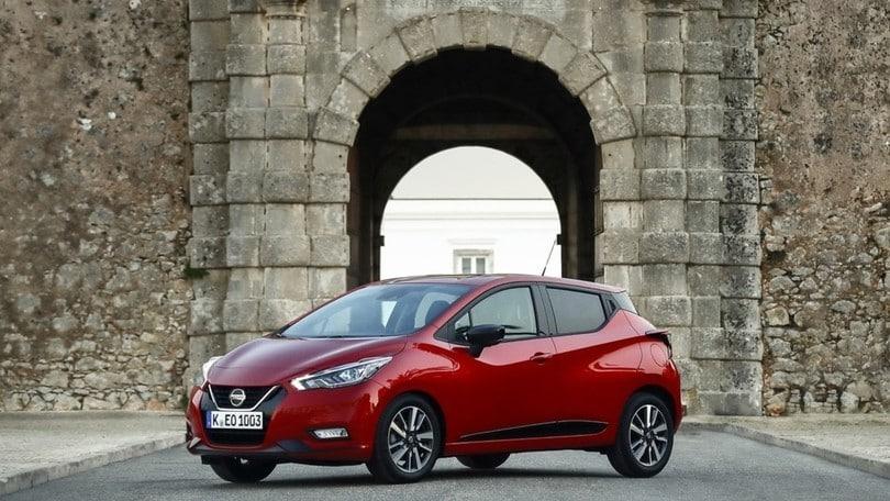 Nissan Micra 2019, arrivano i 1.0 turbo benzina