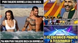 Borriello lascia l'Ibiza e i social si scatenano