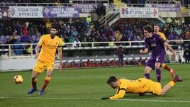 Coppa Italia Fiorentina-Roma 7-1, il tabellino