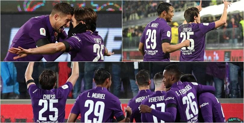 Fiorentina-Roma 7-1: show viola, serata da incubo per Di Francesco