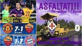 Coppa Italia, Fiorentina-Roma vista attraverso i social