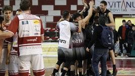 Basket Serie A2, Rieti vince il derby con la Virtus Cassino. Cade la Fortitudo Bologna