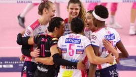 Volley: A1 Femminile, Novara raggiunge Conegliano al comando