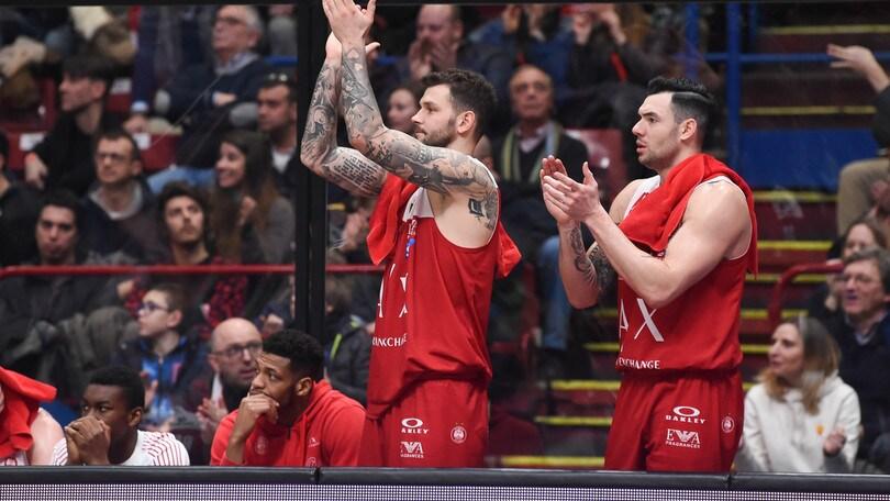 Basket, Eurolega: Gran Canaria-Milano, successo Olimpia a 1,43