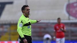 Serie B Pescara-Brescia, dirige Aureliano. Palermo-Foggia: Ghersini