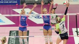 Volley: A1 Femminile, Monza che rimonta ! da 0-2 a 3-2 su Firenze