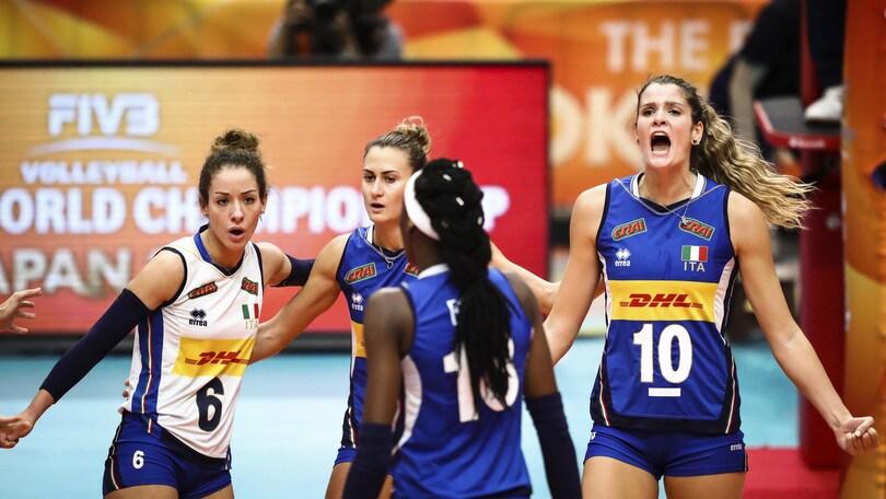 Volley: Europei Femminili 2019: gli orari di gioco della prima fase