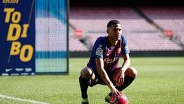 Il Barcellona presenta Todibo: il difensore sceglie la 6 di Xavi