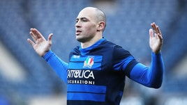 Rugby, Italia-Galles: la carica di Parisse «Vogliamo vincere»