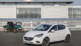 Opel festeggia il compleanno con la Corsa