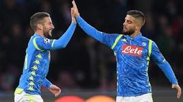Napoli, Insigne e Mertens gol cercansi