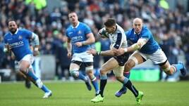Rugby Sei Nazioni: Italia sconfitta dalla Scozia, il finale d'orgoglio non basta