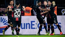 Bundesliga: Bayern ko a Leverkusen, il Borussia pareggia e va a +7