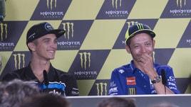 MotoGp, Marini su Rossi: «Deve correre fino a 46 anni»