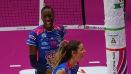 Volley: Coppa Italia A1 Femminile, Novara è la prima finalista