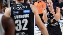 Basket Serie A, Trento vince l'anticipo della 18^ giornata: 74-71 contro Varese