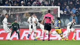 Serie A Juventus-Parma 3-3, il tabellino
