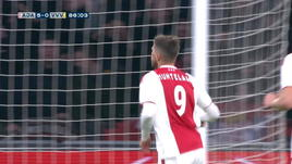 Ajax, anche Huntelaar partecipa alla festa