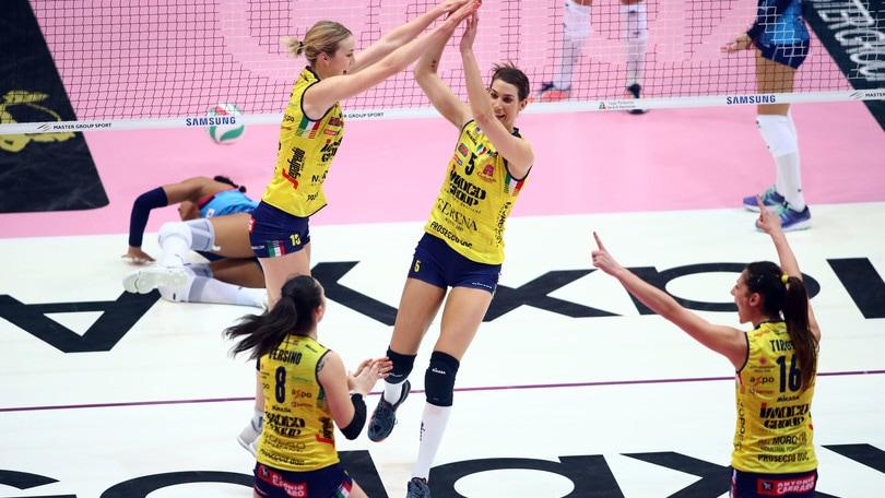 Volley: Coppa Italia A1 Femminile, la finale è Conegliano-Novara