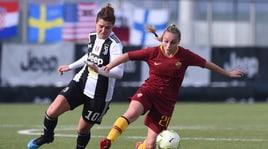 Calcio femminile: la Juve stende la Roma