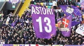 Udinese-Fiorentina, bandiere e cori in ricordo di Davide Astori