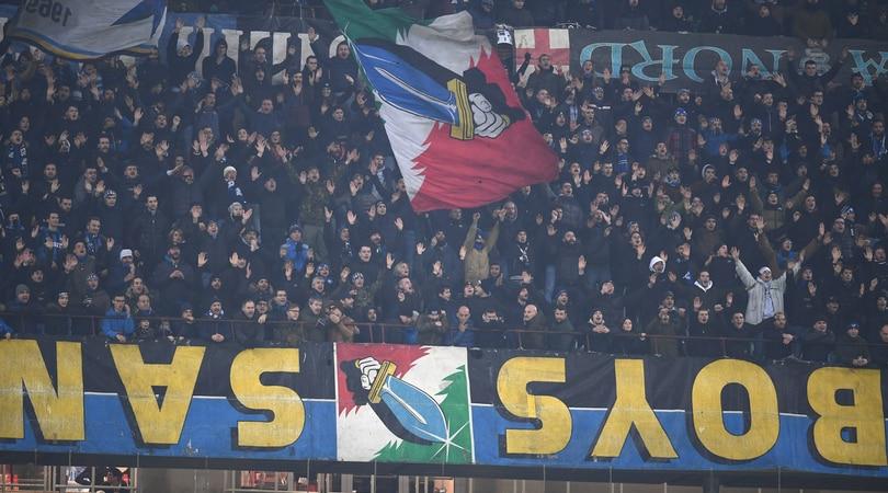 Inter la Curva Nord attacca: