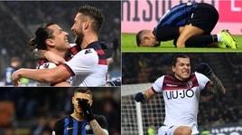 Inter-Bologna 0-1: Santader decide, Icardi a testa bassa