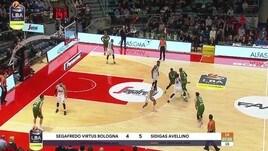 Segafredo Virtus Bologna-Sidigas Avellino 88-66
