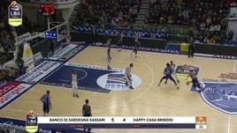 Banco di Sardegna Sassari-Happy Casa Brindisi 98-103