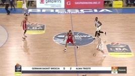 Germani Basket Brescia-Alma Trieste 77-85