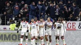 Ligue 1: il Psg cade a Lione, primo ko del campionato