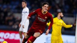 Serie A, Roma-Milan 1-1: apre Piatek, risponde Zaniolo