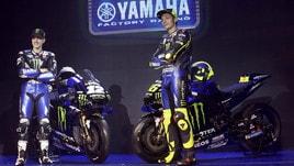 MotoGp: Yamaha, ecco la M1 2019 di Rossi e Vinales