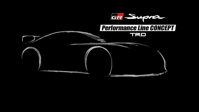 Toyota GR Supra Performance Line Concept TRD: tuning sportivo
