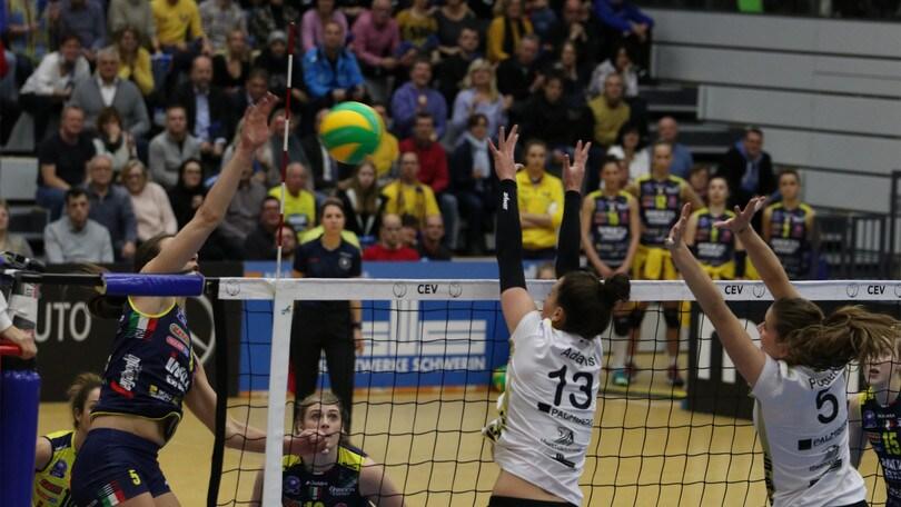 Volley: Champions Femminile, per Conegliano brutto tonfo in Germania