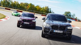 BMW X3 M e X4 M, teaser video prima del debutto