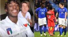 La strana coppia: Zaniolo e Kean fratellini d'Italia